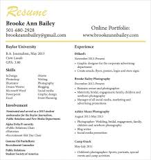 Photography Resume Examples Sample Photographer Resume Photographer Resume Sample Template 7