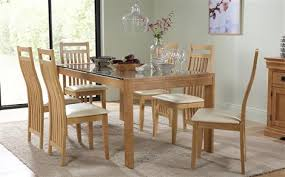 wooden kitchen table and chairs oak dining table chairs oak dining sets furniture choice