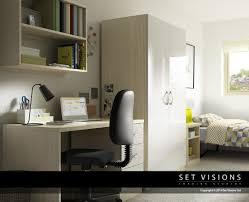3d bedroom office furniture by set visions 3d artist