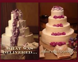 wedding cake disasters the blissful so what do you do a wedding planner s real