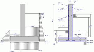 Design A Retaining Wall Design Concrete Retaining Wall With Well - Concrete retaining walls design