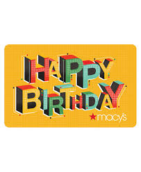 e giftcard happy birthday e gift card gift cards macy s