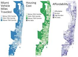Miami Neighborhoods Map by Car Dependence And Neighborhood Affordability U2013 Ugec Viewpoints