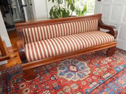 Church Pew Style Bench American Empire Church Pew Bench Or Settee For Sale At 1stdibs