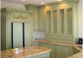 Antique Green Kitchen Cabinets   how to paint antique white kitchen cabinets a guide on how to
