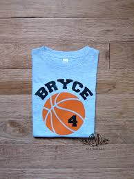 personalized basketball birthday shirt boys basketball shirt request a custom order and have something made just for you