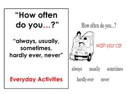 adverbs of frequency everyday activities easy english