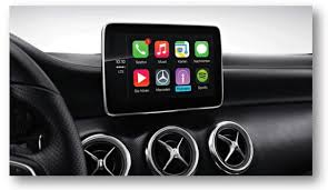 mercedes shares mercedes shares lineup of 2016 u s carplay vehicles