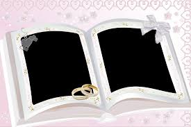 personalized wedding photo frame picture frames design books wedding picture frames simple