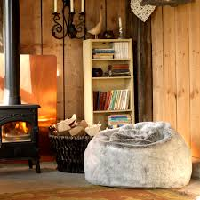 Interior Your Home by 27 Hygge Inspired Items For Your Home Fur Bean Bag Interior
