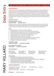 word processing skills for resume data entry resume templates clerk cv jobs from home keyboard