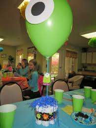 monsters inc baby shower ideas disney monsters inc baby shower home party theme ideas