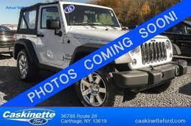 jeep wrangler syracuse ny used 2016 jeep wrangler for sale in syracuse ny edmunds