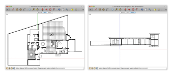 How To Make A Building Plan In Autocad by Getting Better Sectional Views In Layout Sketchup Blog