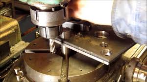 making a rotary table cutting a radius with a rotary table youtube
