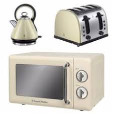 Microwave And Toaster Set Russell Hobbs 17 L 700 W Manual Microwave Colours Plus Kettle