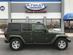 2009 Jeep Wrangler Interior Green Jeep In Indiana For Sale Used Cars On Buysellsearch