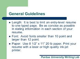 Purdue Owl Resume The Best Resume by Purdue University Writing Lab Resume And Cover Letter Workshop A