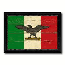 italy war eagle italian military military flag vintage canvas