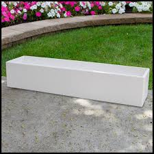 Deck Planters And Benches - modern outdoor planter urban chic porch deck and patio planter