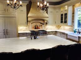Light Kitchen Countertops Country Kitchen Taj Mahal Quartzite Countertops With Marble