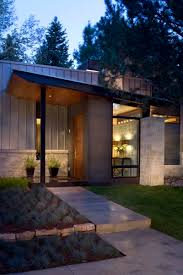 home element house entrance design modern architecture style for