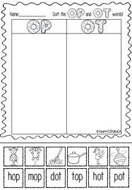 collections of free word family worksheets for kindergarten