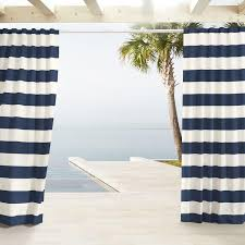 Navy And White Striped Curtains Navy White Stripe Curtains