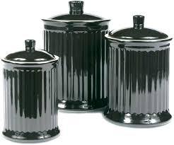 black ceramic kitchen canisters kitchen sets black black canister sets for kitchen for kitchen