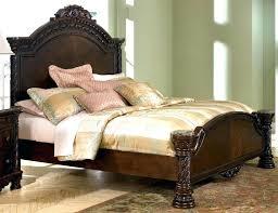 ashley king bedroom sets ashley casa mollino bedroom set awe inspiring furniture canopy bed