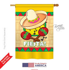 Monogram House Flags Fiesta House Flag U0026 More Garden Flags At Flagsforyou Com