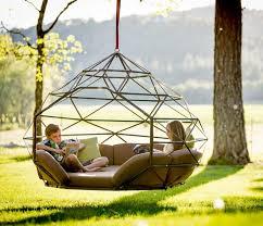 Kodama Zome | kodama zomes a caged hanging outdoor hammock