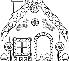 printable gingerbread house colouring page coloring pages of gingerbread houses gingerbread house coloring