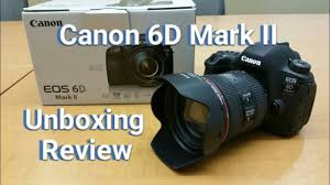 canon 6d black friday 2017 canon 6d mark ii dslr camera unboxing u0026 quick review youtube
