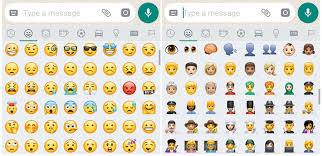 new android emojis whatsapp beta brings new android oreo 8 0 emojis the android soul