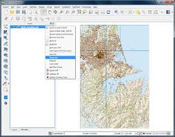 How To Draw A Topographic Map Digitizing Map Data U2014 Qgis Tutorials And Tips
