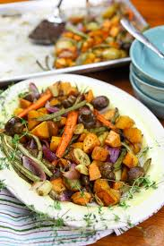 thanksgiving veggies roasted fall vegetables colorful recipes
