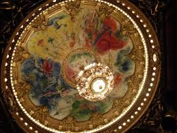 paris opera house chandelier finding the phantom at the palais garnier castlephile travels