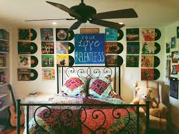 Music Bedroom Ideas For Teens My Bedroom Was Covered In Art And Old Vinyl Records Now It U0027s Just