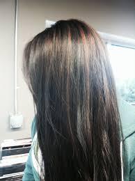 cinnamon brown highlights with dark black hair i think i u0027ll get