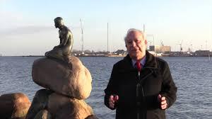 ambassador ahmed at the little mermaid statue in copenhagen youtube