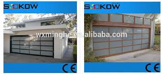 Glass Overhead Garage Doors Folding Garage Doors Clear Glass Overhead Garage Door Insulated