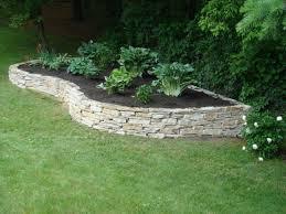 Raised Rock Garden Beds Raised Garden Beds Interiors Design