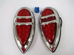 1938 38 1939 39 lincoln zephyr teardrop led lights ebay