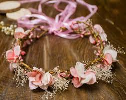 flower decoration for hair flower hair garland etsy