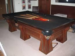 brunswick monarch pool table 1915 antique brunswick 9 ft professional pool billiards table arcade