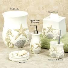 beach style bathroom designs seashell decorhalfbathroom seashells