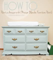 How To Repaint A Nightstand How To Paint A Dresser Maison Blanche Furniture Paint Tutorial