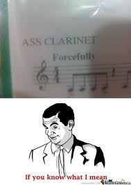Clarinet Meme - ass clarinet by 350zerpette meme center