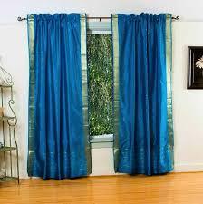 peacock color curtains nana u0027s workshop